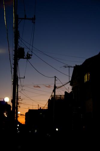last sunset of 2009