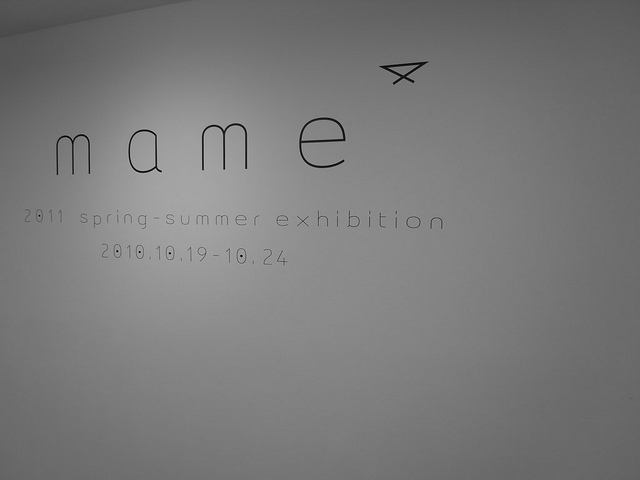 mame   11SS exhibition