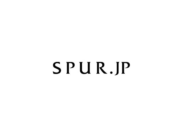 SPUR.JPで連載が始まりました